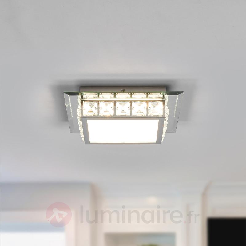 Plafonnier LED scintillant Melek - Plafonniers LED