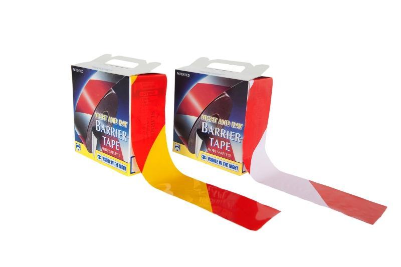 Reflective barrier tape 250 m x 75 mm - SLIRREFxx
