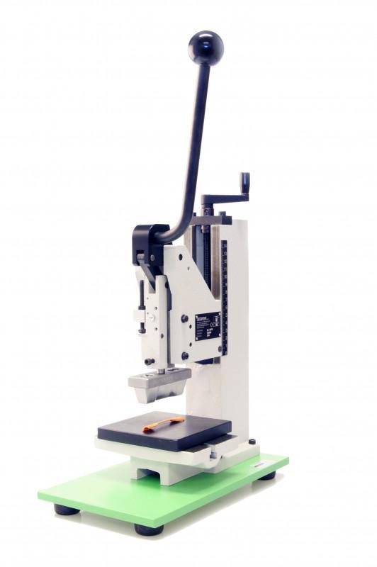 Toggle Press KHP - For punching dumb-bell test specimen for further tests (e.g. Hot Set Test)