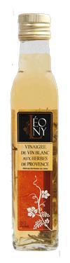 Vinaigre de Vin Blanc aux Herbes de Provence  - 6 % d'acidité BIO LEONY