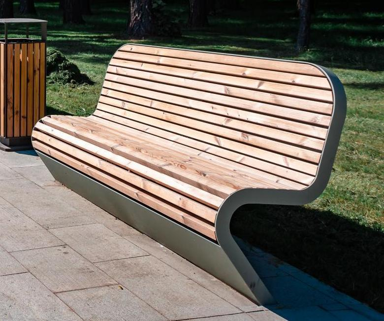 """Bench """"Fly"""" (without an embedded plate) - Benches and sun loungers"""