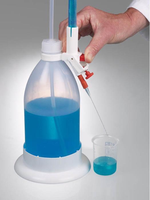 Bureta de titración con protector antiastillamiento - Equipo de laboratorio, dosificación precisa, bureta de vidrio a prueba de astill