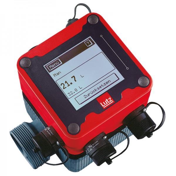 Flow Meter TS type SL10 with volume preset - Nutating Disc Meter