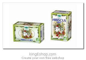 """Tisane Bio Hibiscus """"Romon Nature"""" - Référence : HIBISCUS"""