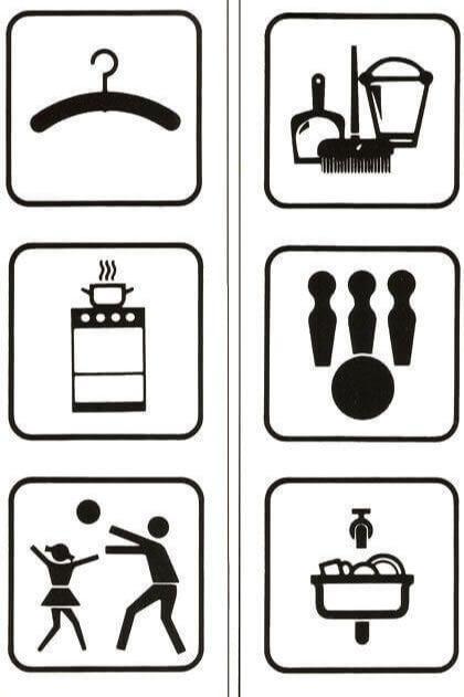 Foil signs -