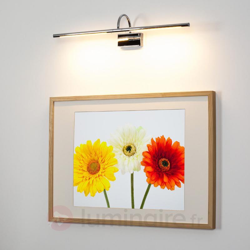 Applique tableau Armando chromée brillante - Appliques à tableaux