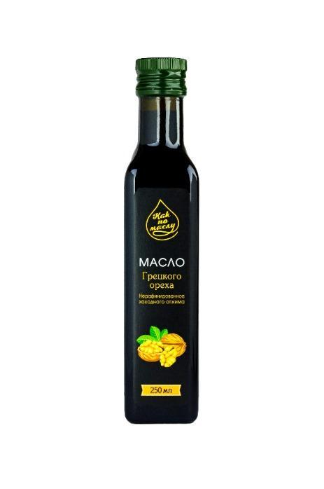 Масло грецкого ореха оптом - ореховое масло