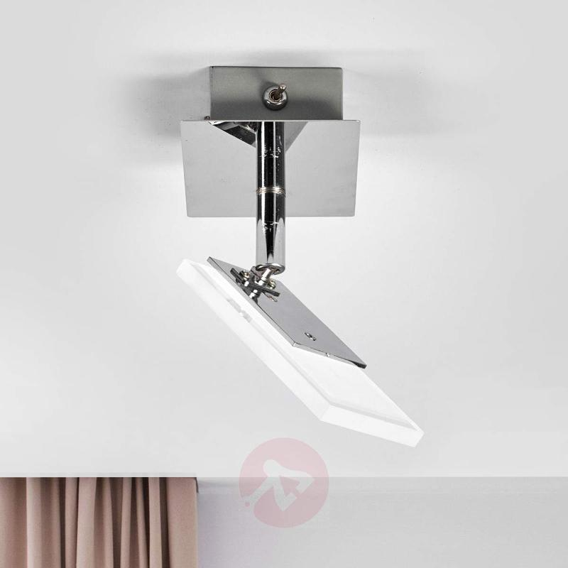 Teda - modern LED wall lamp with switch - Ceiling Lights