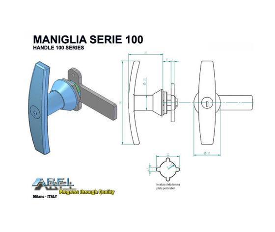 Maniglie - Maniglie SERIE 100