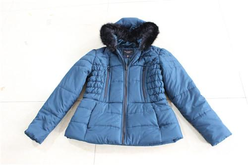 Women's cotton jacket with hood - TL-28