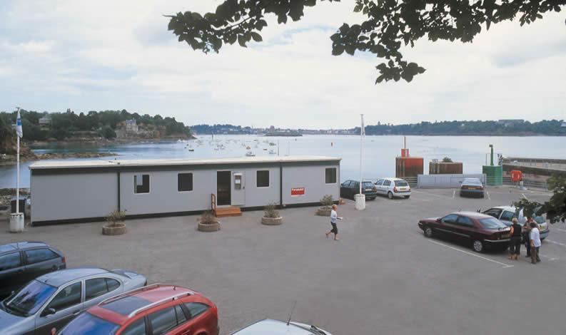 Construction temporaire Portakabin Pullman - Des bureaux temporaires de qualité
