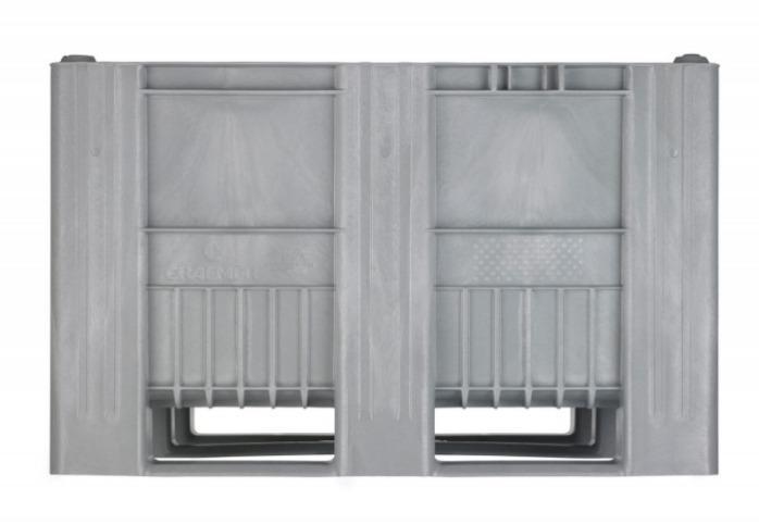 Palet Box CB3 - Palet Box, Moldeado por inyección de una sola pieza con tres patines/travesaños