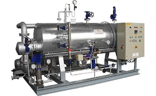 Steam Generator - The steam generator DG