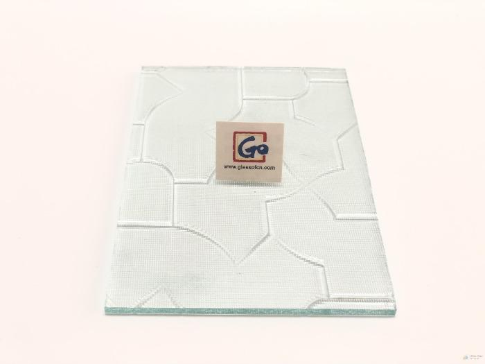 3--6mm Clear Pattern Glass  - Art Glass & Glass Crafts/Patterned Glass,High Quality
