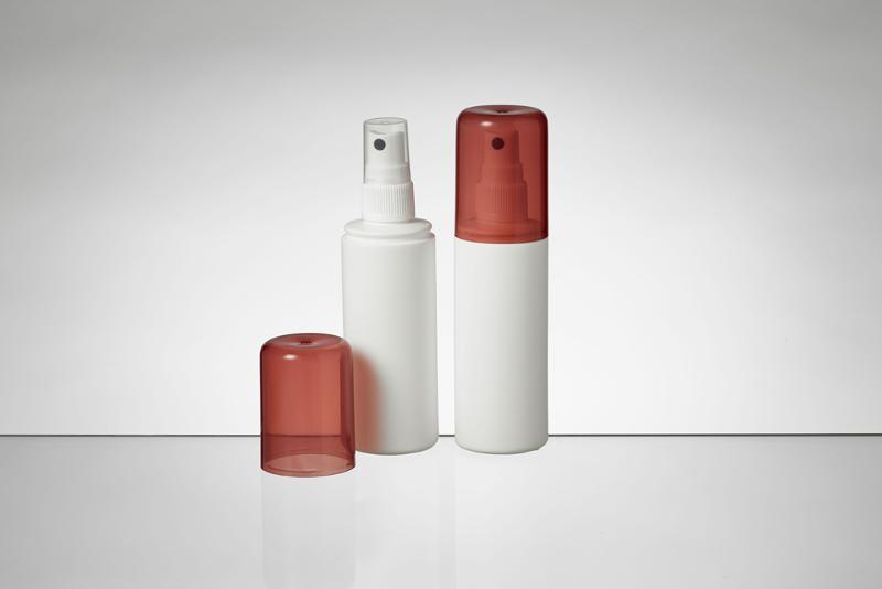 Cylindrical round bottles in PE - Round bottles