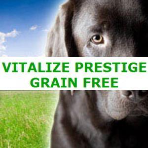 Aliment complet sans céréales pour chien adulte - VITALIZE PRESTIGE GRAIN FREE
