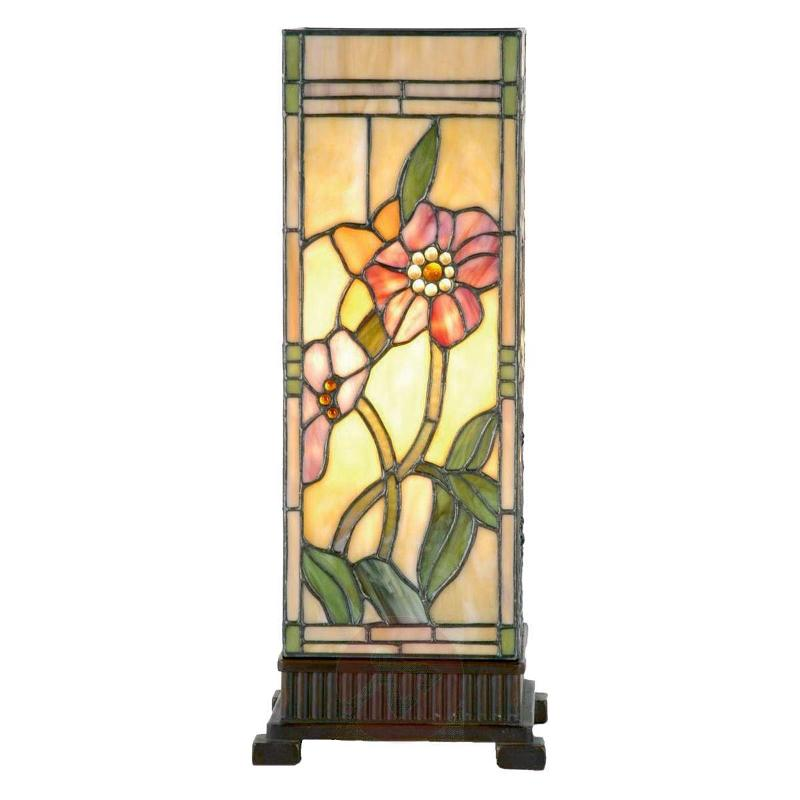 Beautiful lantern Shirley in the Tiffany style - Window Sill Lights