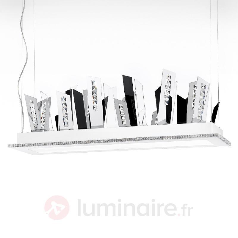 Suspension LED SKYLINE hors du commun blanc - Suspensions LED