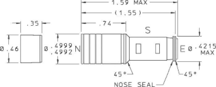 500 Spring Biased Shuttle Valve - null