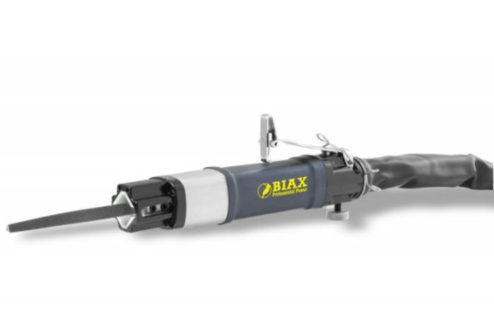 Pneumatic filer - FR 10-5/2 - Stroke length 10 mm / Strokes per minute regulated up to 5.500