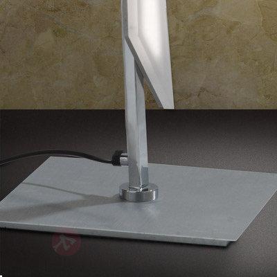 Lampadaire LED ultramoderne Dilara avec variateur - Lampadaires LED