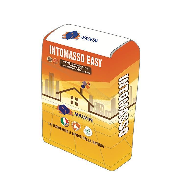Massetto phono assorbente INTOMASSO EASY - Conforme alla norma UNI EN 13813-2002