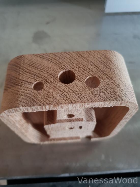 frezowanie cnc - Frezowanie drewna sklajki