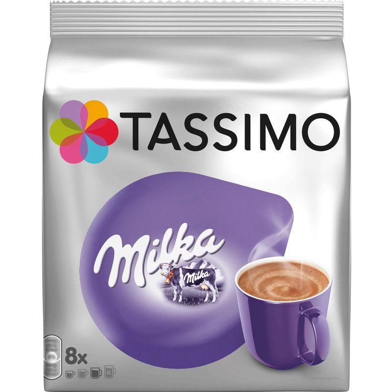 Chocolat chaud Milka 240g - TASSIMO - 8 capsules