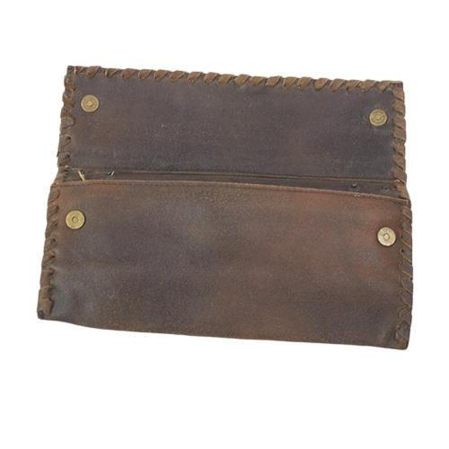 Leather ladies wallet  - Leather Buffalo crazy horse