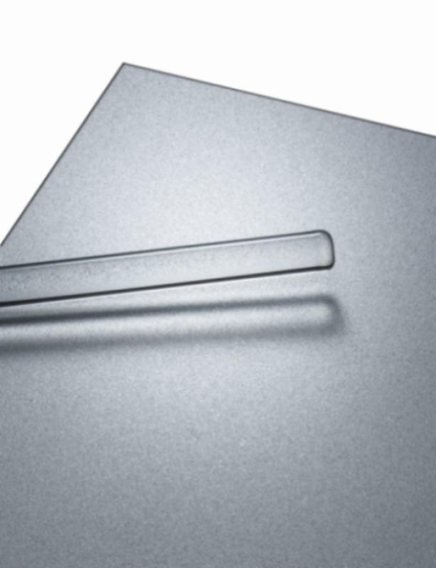 POHL Duranize® Bright Sparkle - Aluminium-Bleche, strukturierte und funkelnd eloxierte Oberfläche.