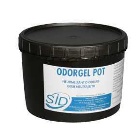 ODORGEL POT carton 4 x 1 L - Désagrégateur de molécules malodorantes