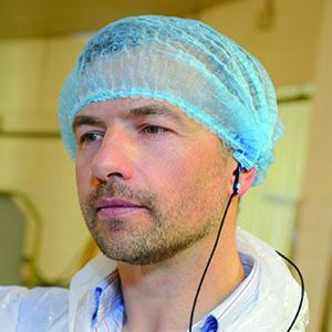 QEOS II Agroalimentaire - Votre protection auditive sur mesure pour l'industrie agroalimentaire