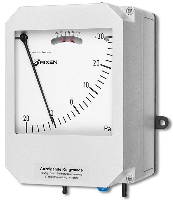Differenzdruckmessgerät RW65 - für Druck, Unterdruck und Differenzdruck als reiner Anzeiger
