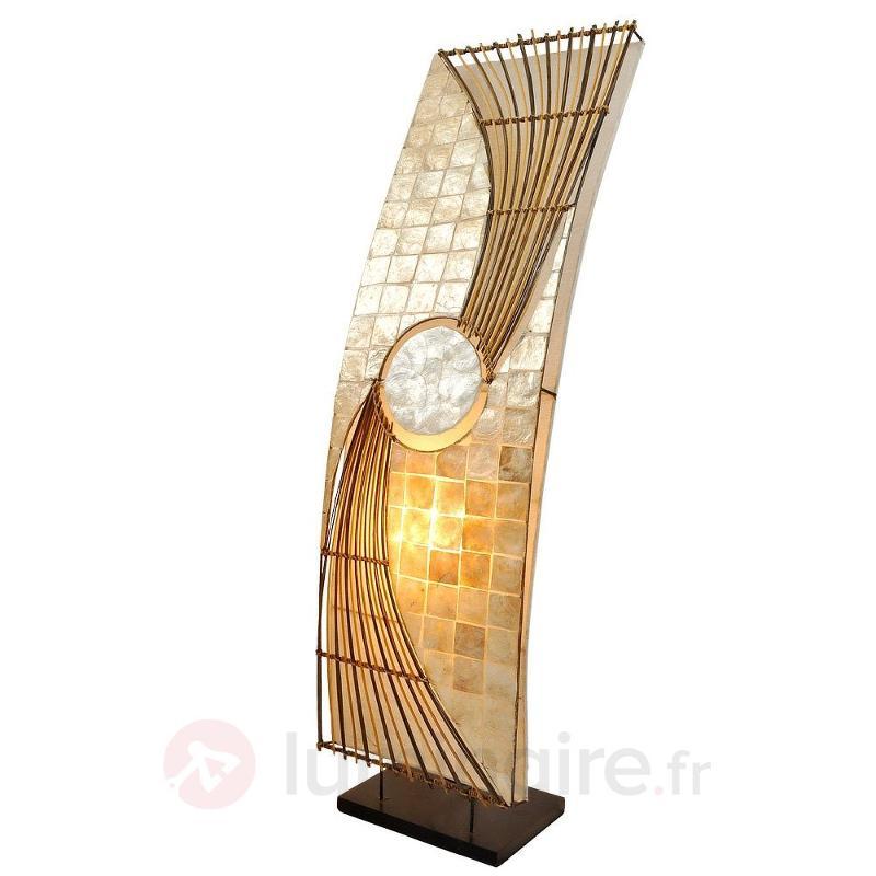 Lampadaire classieux Quento 90 cm - Lampadaires en bois