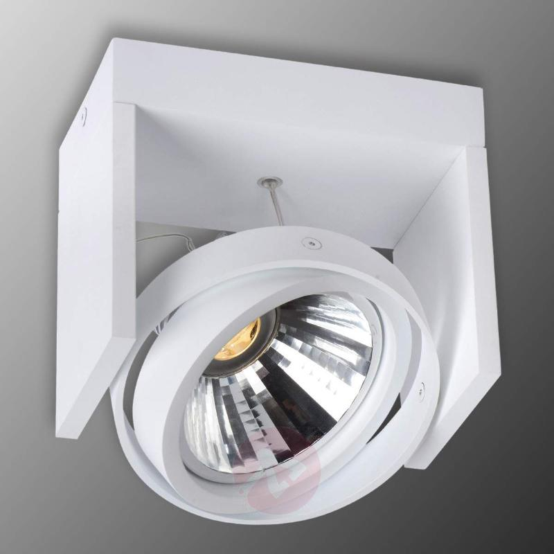 White Zett LED ceiling spotlight - Spotlights