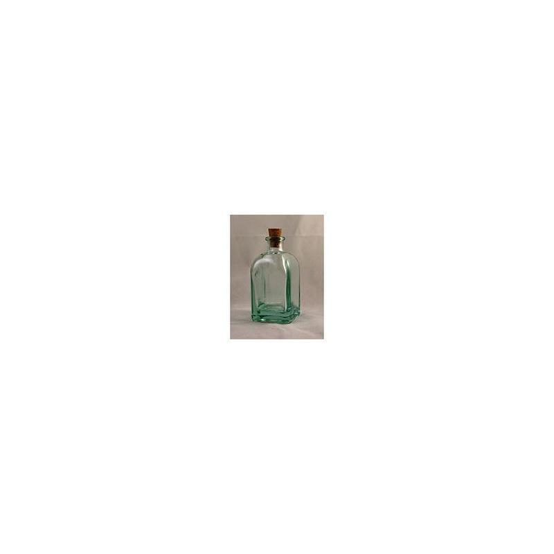 24 mini bouteilles 100 ml Frasco Carrée en verre recyclé - Mini Bouteilles, Mini flacons