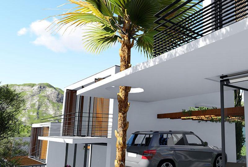 Modern new split-level villa for sale Mandelieu - Real Estate