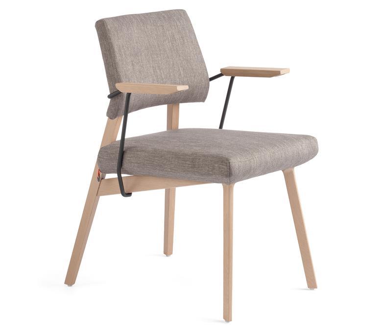chaises - LINDSAY UNI H47 +A
