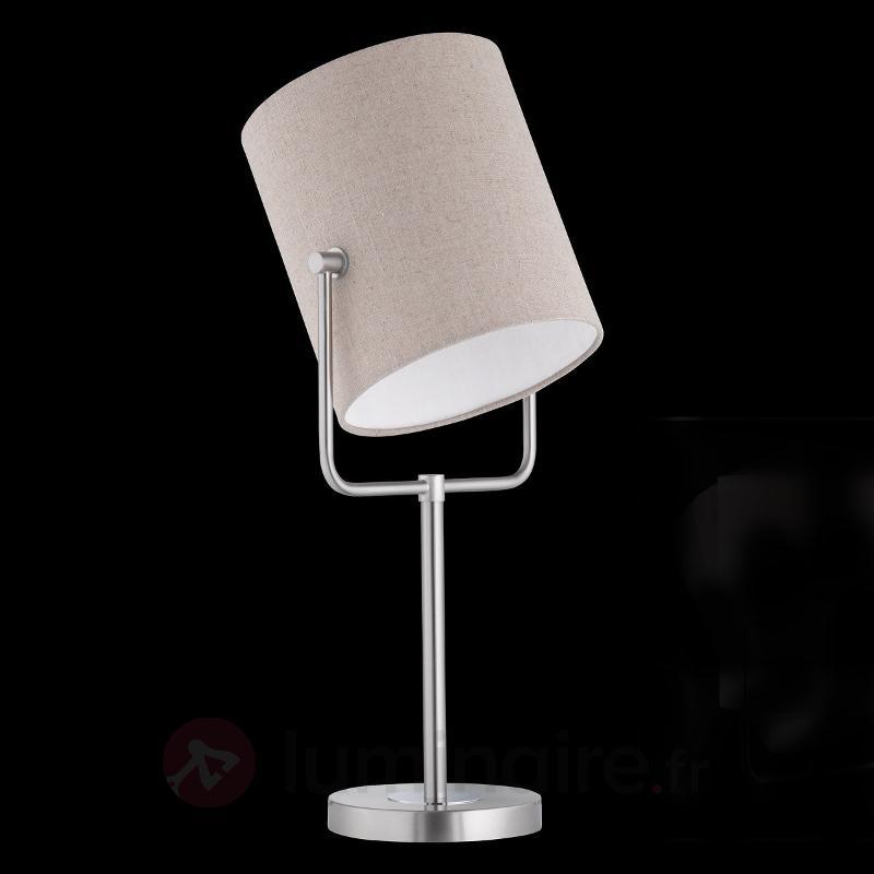 Lampe à poser moderne Ace - Lampes à poser en tissu