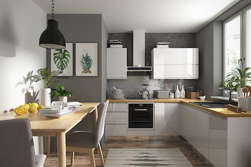 Corner kitchen -