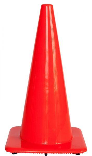 Cone soft pvc no stripes H 75 cm - SIKEL04