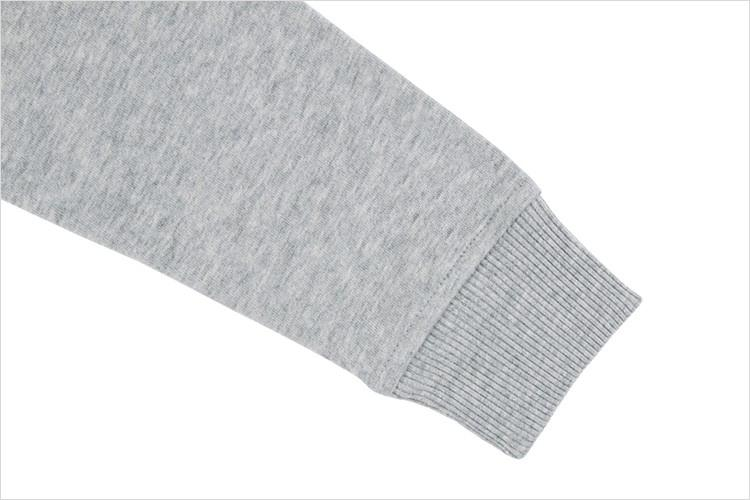 High quality cotton fleece - sweater embroidered or printed as required