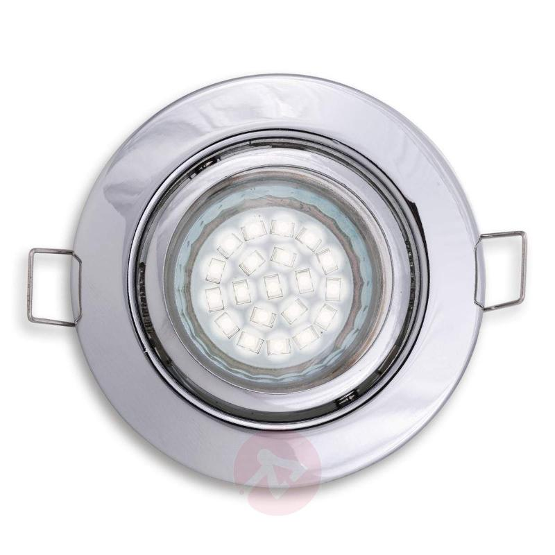 Pivotable & rotatable recessed ceiling light - Low-Voltage Spotlights