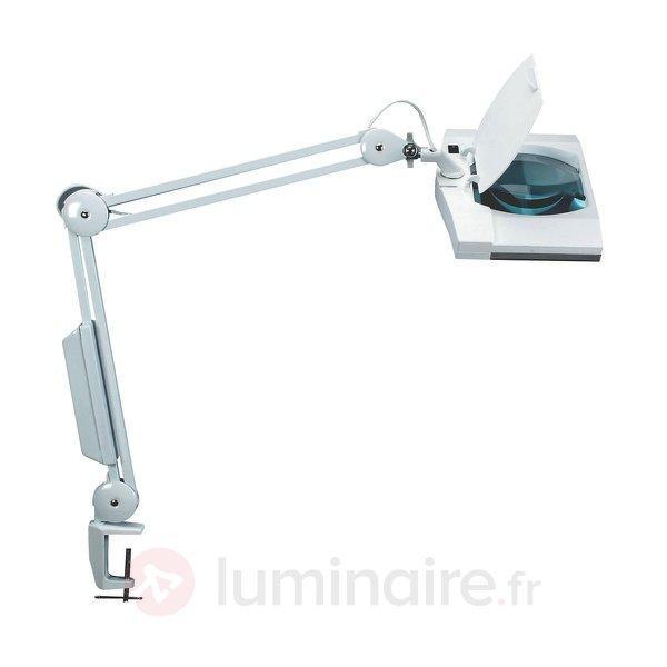 Lampe avec loupe pratique VITRUM, blanc