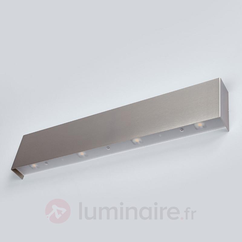 Applique LED Maja aspect nickel 54 cm - Appliques LED