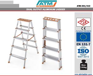 DUAL OUTPUT ALUMINUM LADDER -