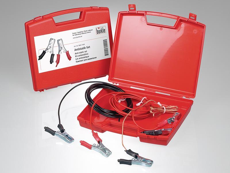 Kit antiestático - Accesorios de equipos de trasiego, conexión a tierra sencilla y fiable