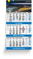 3-Monatsplaner - 3-Monats-Wandkalender Vario 14+ - 6-sprachige Ausgabe