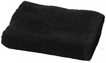 Toallas de peluquería negras - Toallas negras para peluquería 100% algodón