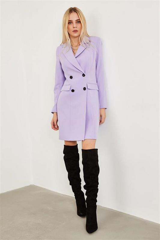 Lila Jacket Women's Dresses - Mini Dress